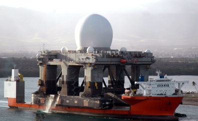 SBX Radar (source:news.navy.mil)